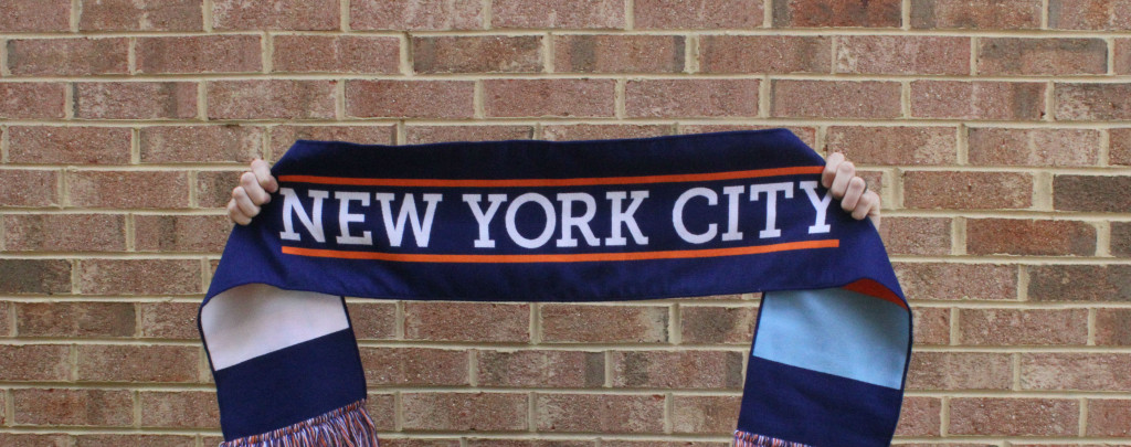 custom soccer scarf