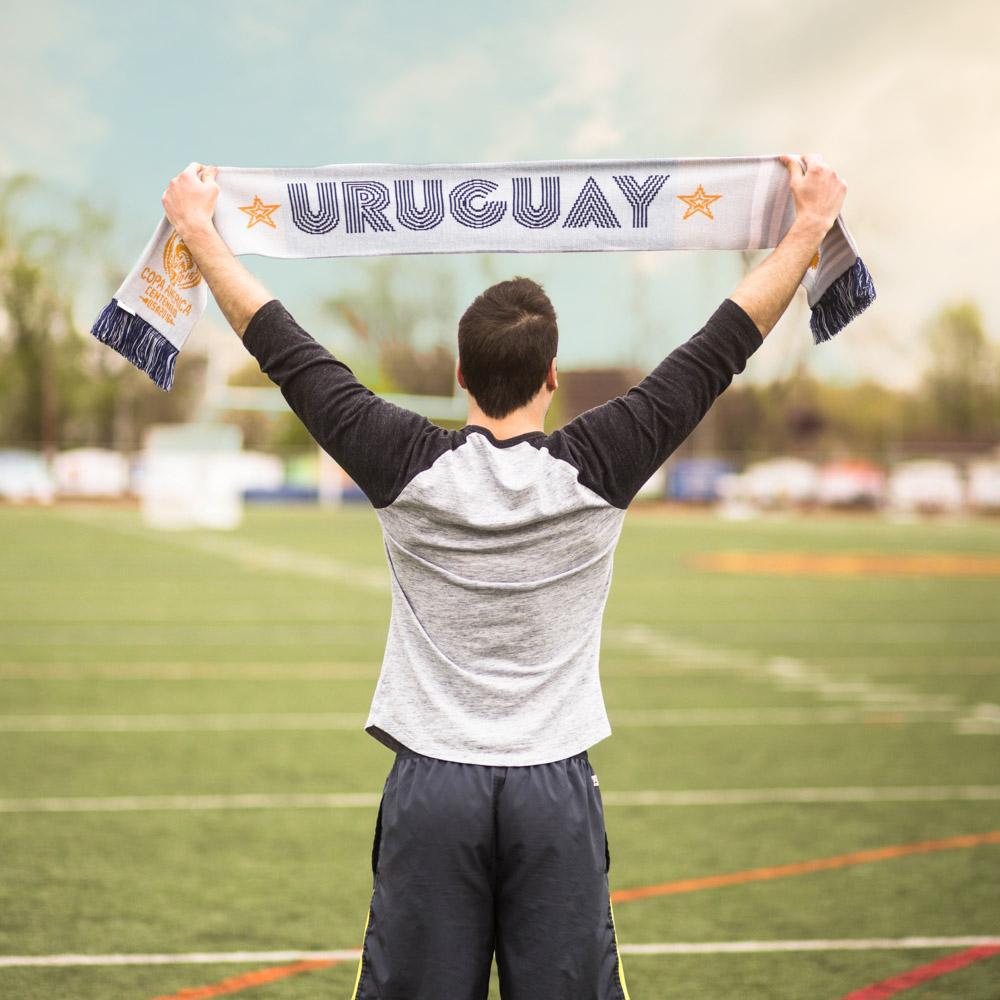 uruguay copa america knit scarf diehard scarves