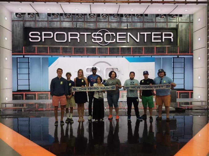 Third Rail members at ESPN.