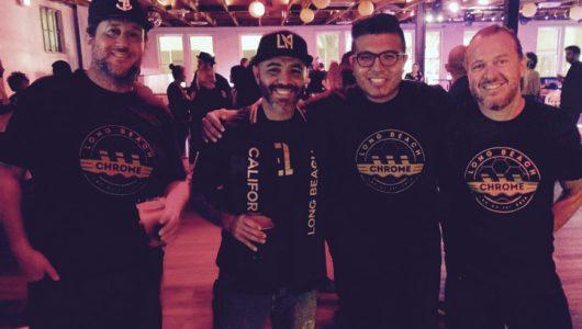 Long Beach Chrome members celebrating