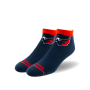 blue and red capitals soccer club socks with eagle logo at the top
