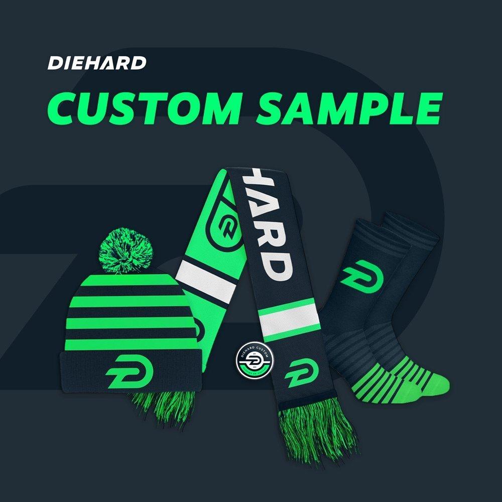 Customize your one time Diehard Custom product sample