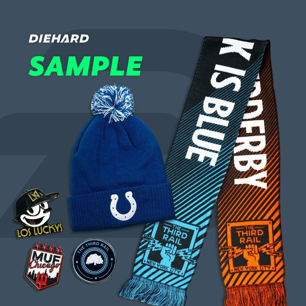 Choose your Diehard Custom Sample