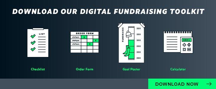 Download the Diehard Custom digital fundraising toolkit