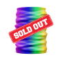 rainbow pride protective face gaiter or mask - sold out - Diehard Custom