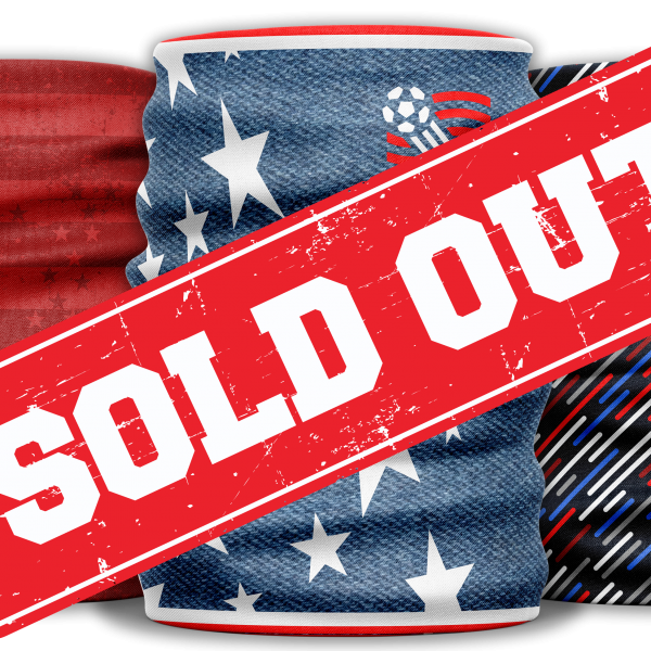 sold out american usa 3 pack of protective face gaiters or masks Diehard Custom