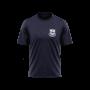 Lansing Spurs navy Tri Blend shirt with white crest - Diehard Custom Fundraising